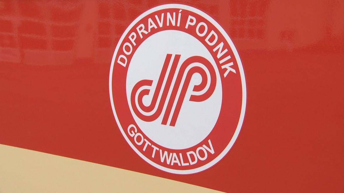 Historické logo zlínské dopravní společnosti