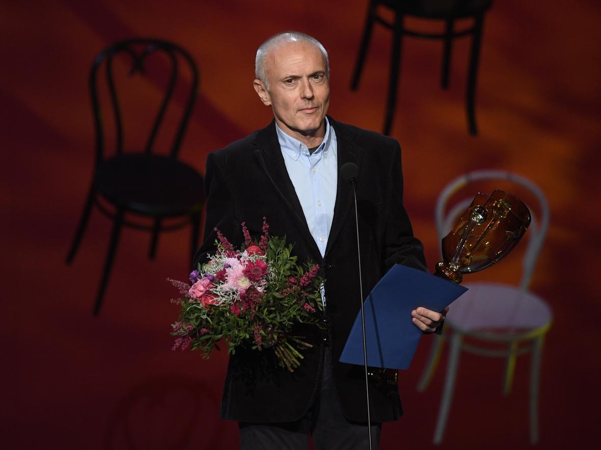 Ocenění za šíření divadelního umění v televizi: dramaturg Ondřej Šrámek.