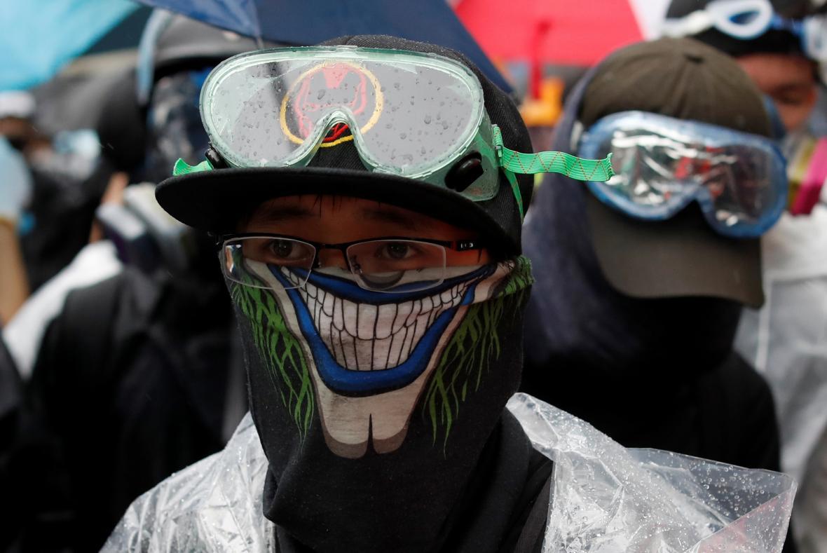 Protivládní demonstrace v Hongkongu