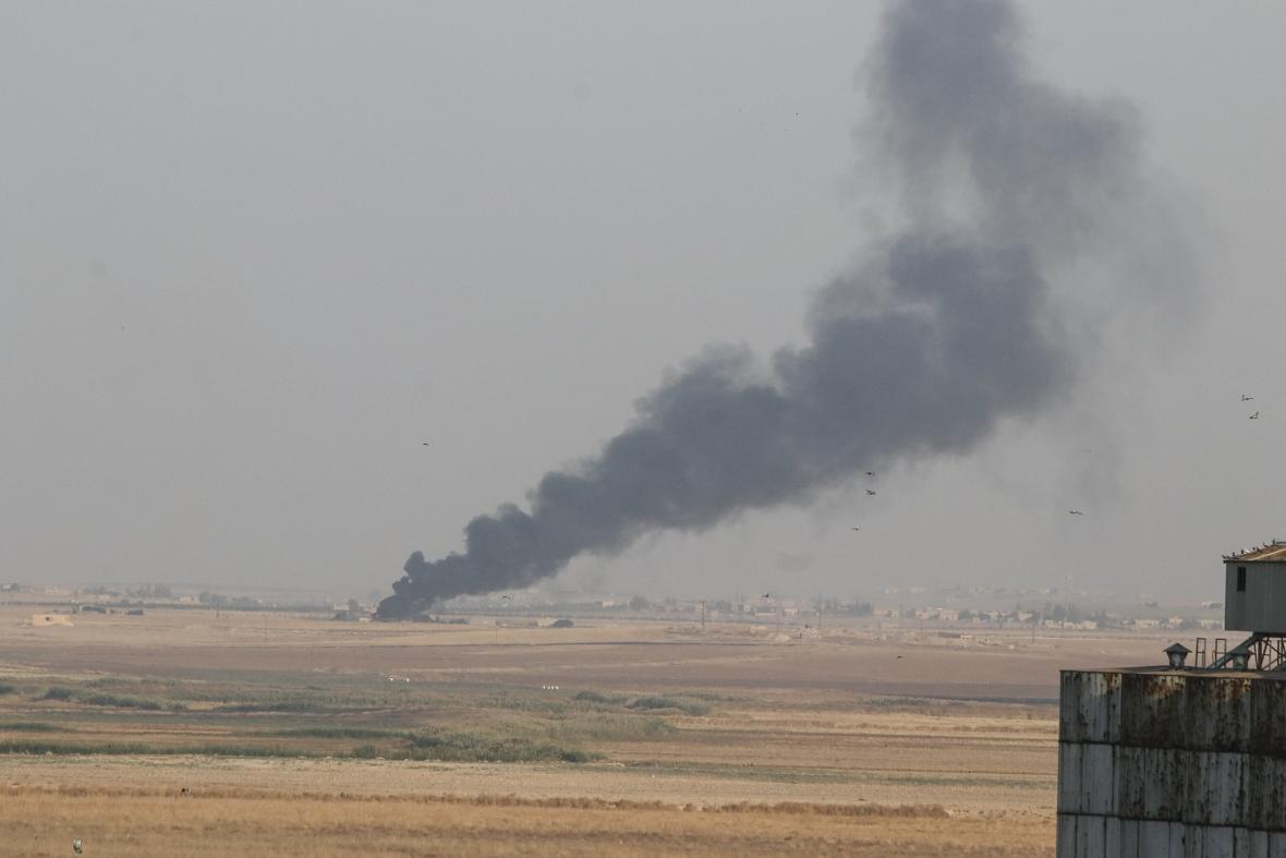 Turci zahájili úder v Sýrii