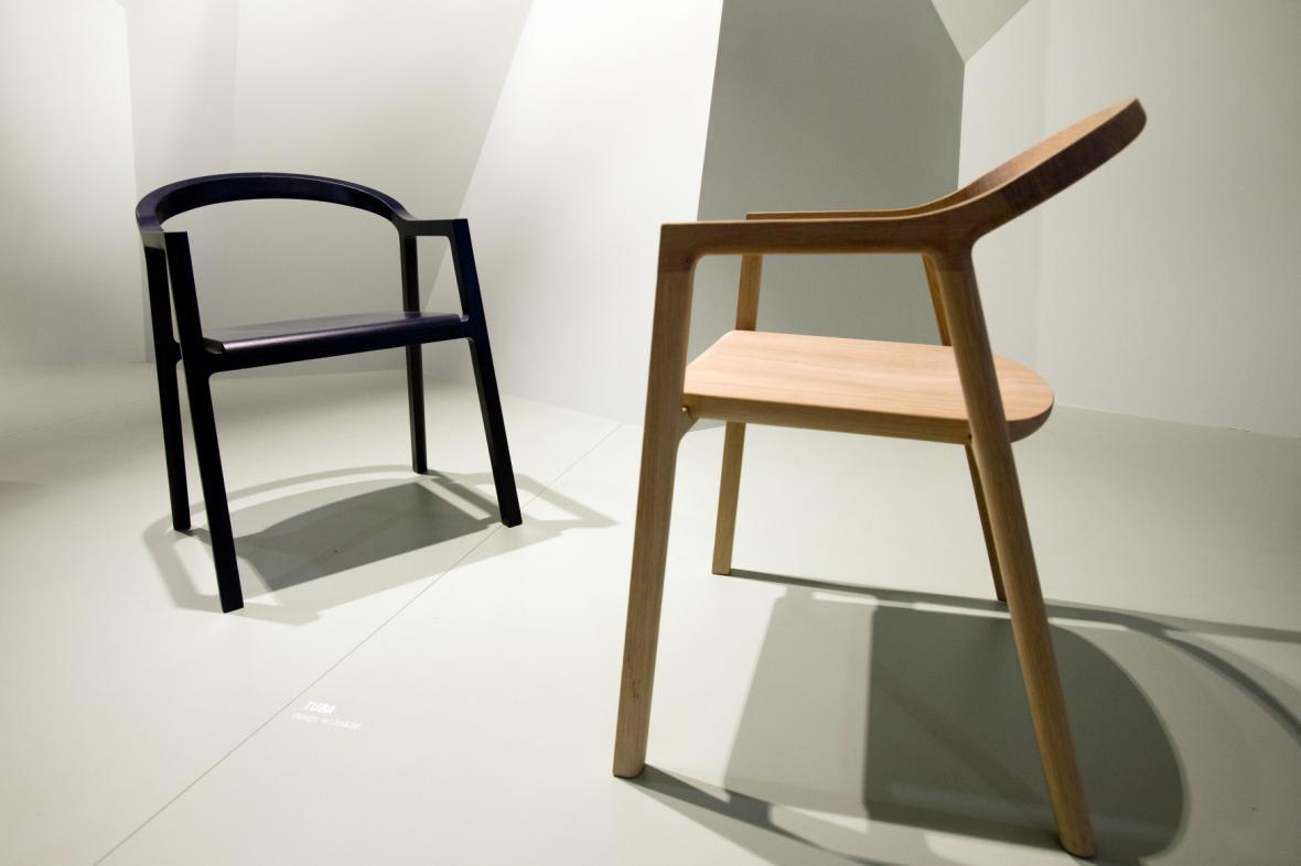 Designblok 2019, židle od studia Konsepti Moroso