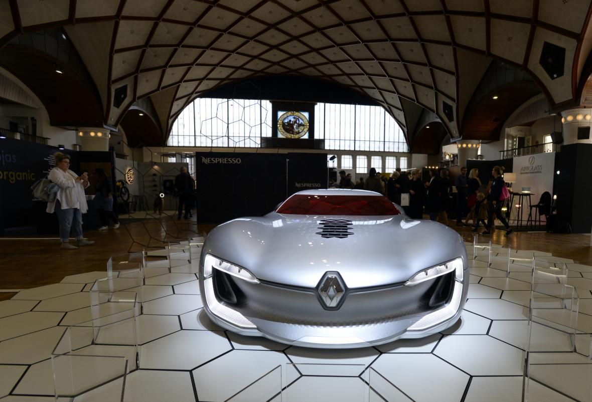 Designblok 2019, koncept vozu Renault Trezor,