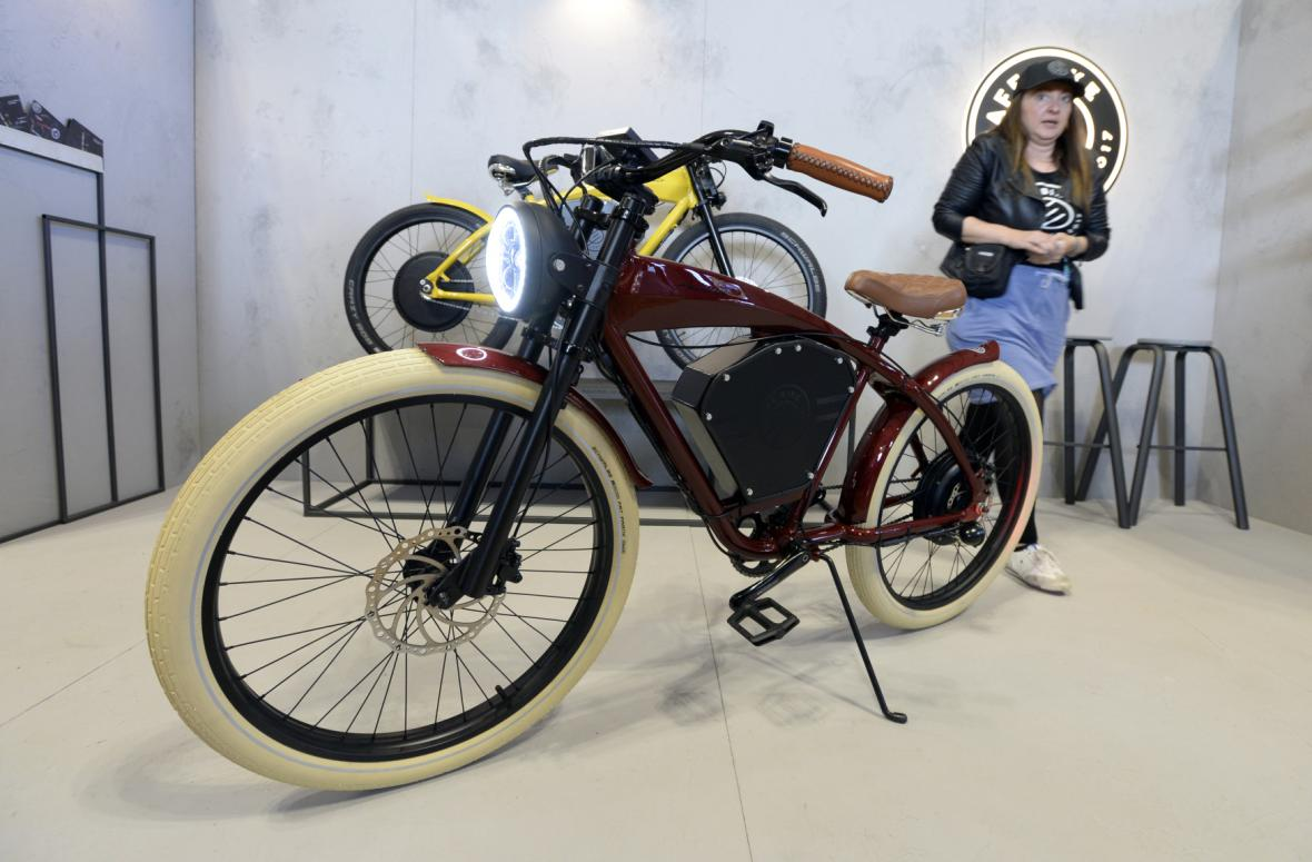 Designblok 2019, E-Cafe Bike Americano