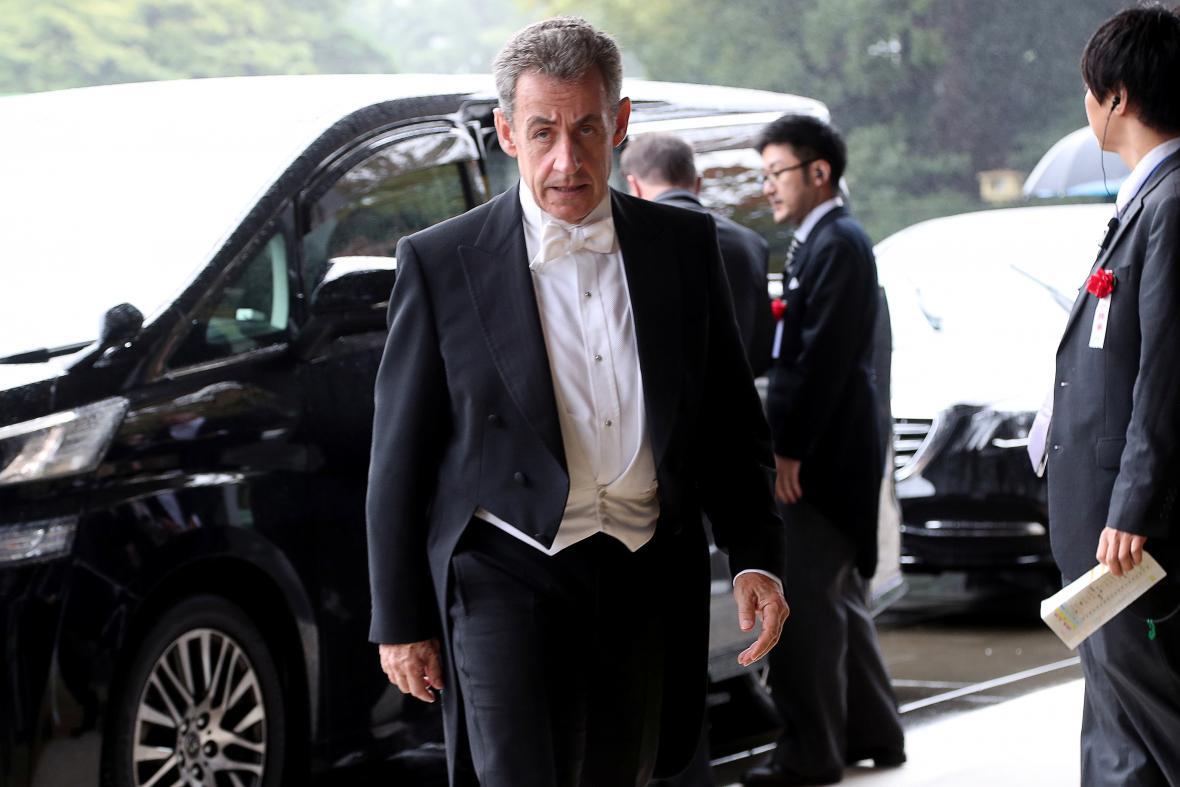 Do Tokia zavítal rovněž francouzský exprezident Sarkozy