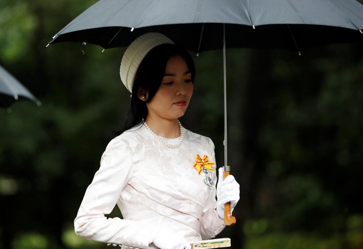 Japonská princezna Akiko