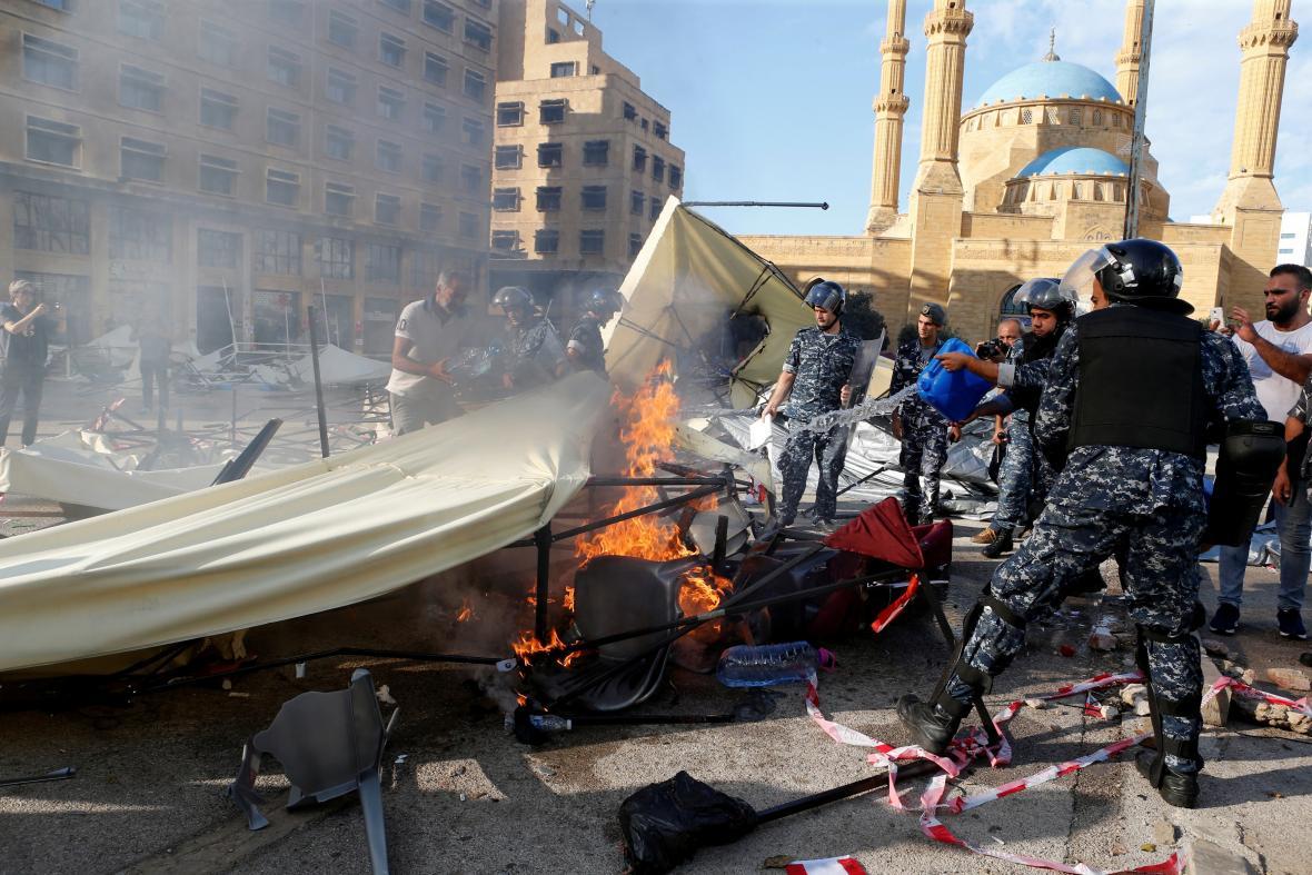 Nepokoje v Bejrútu