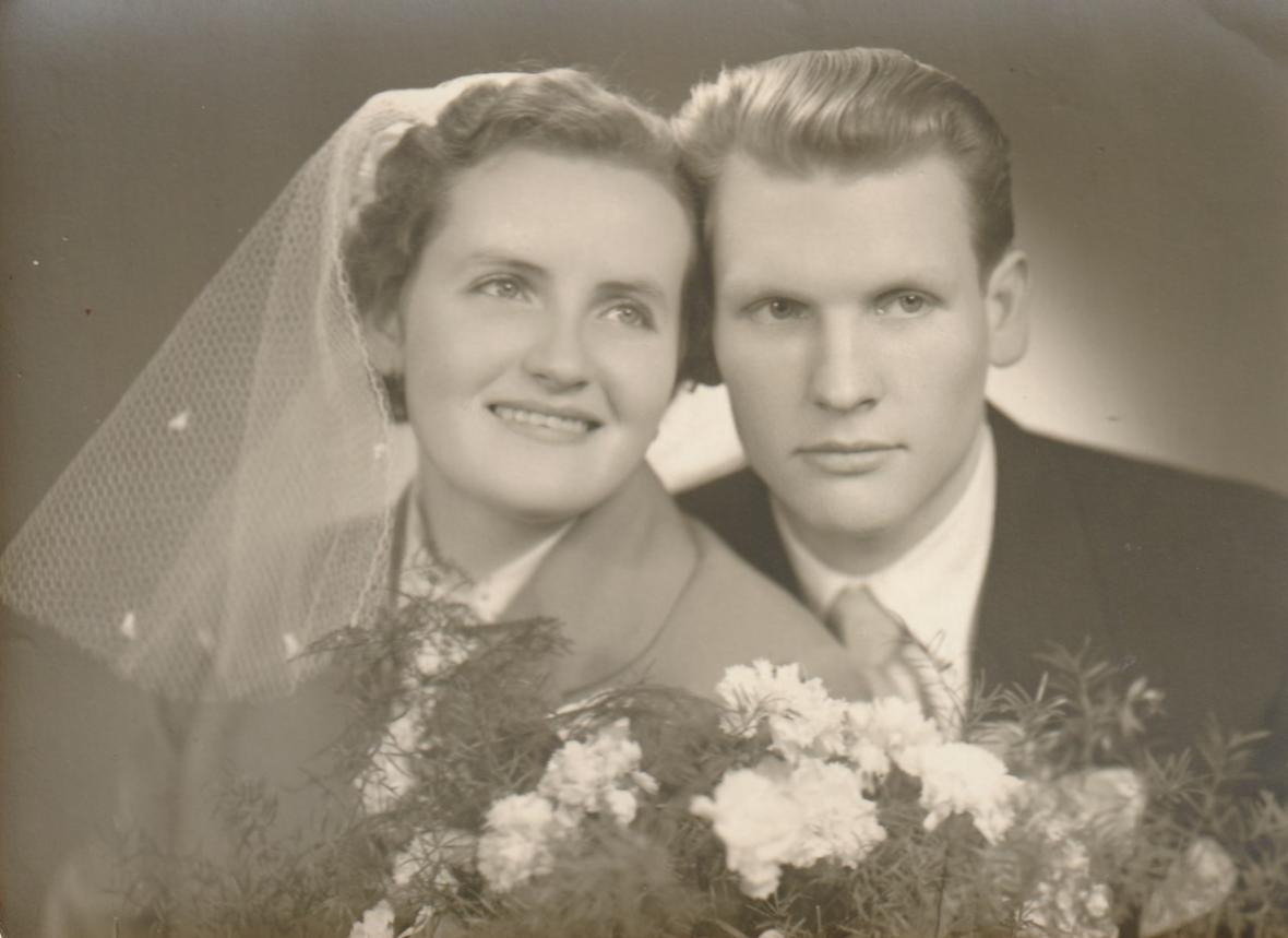 Svatební fotografie Věry a Jana Jirákových