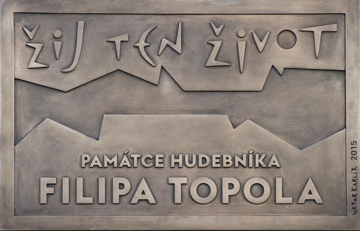 Pamětní deska v pražské Antonínské ulici