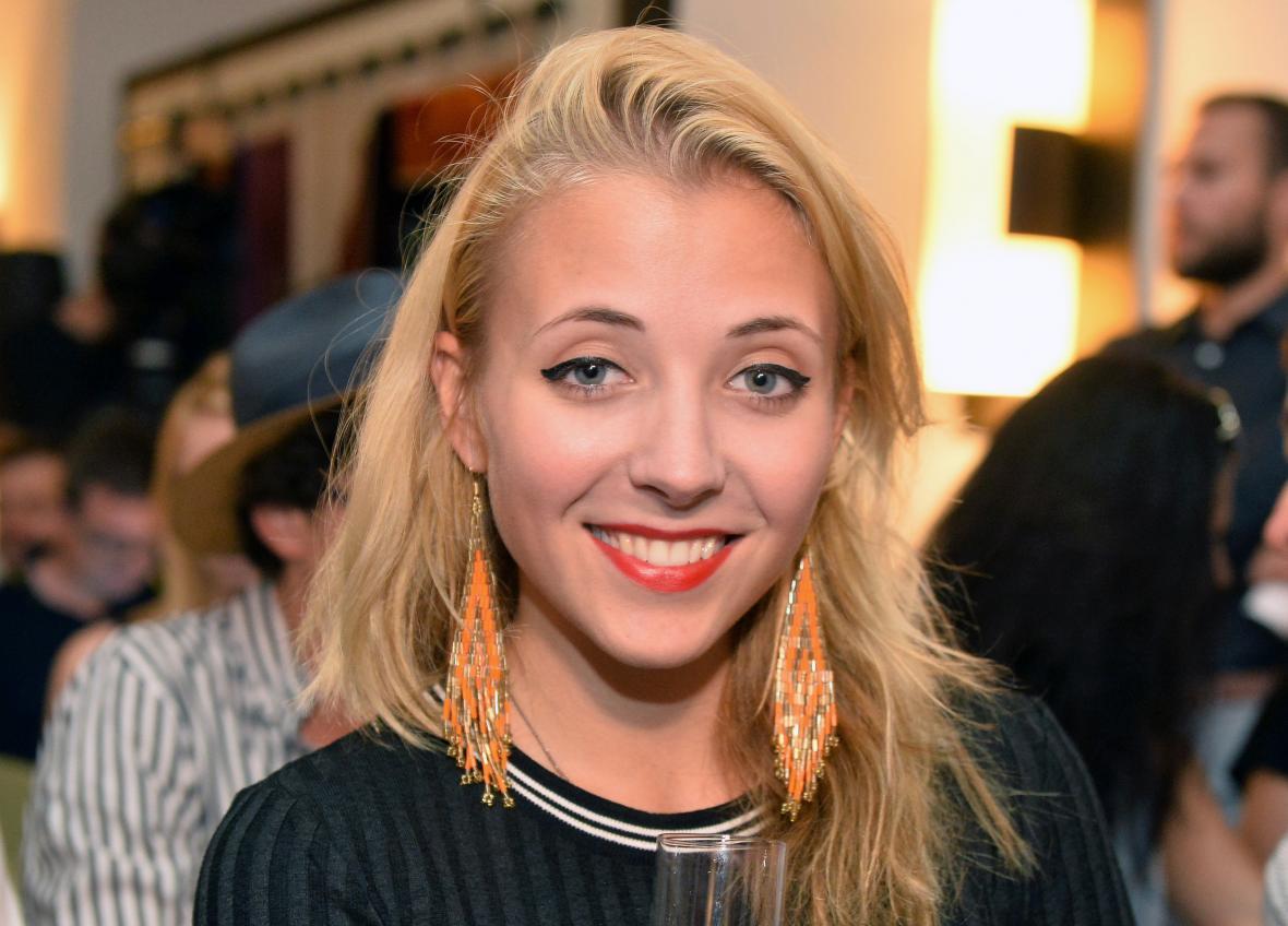 Zpěvačka Anna Slováčková v roce 2016