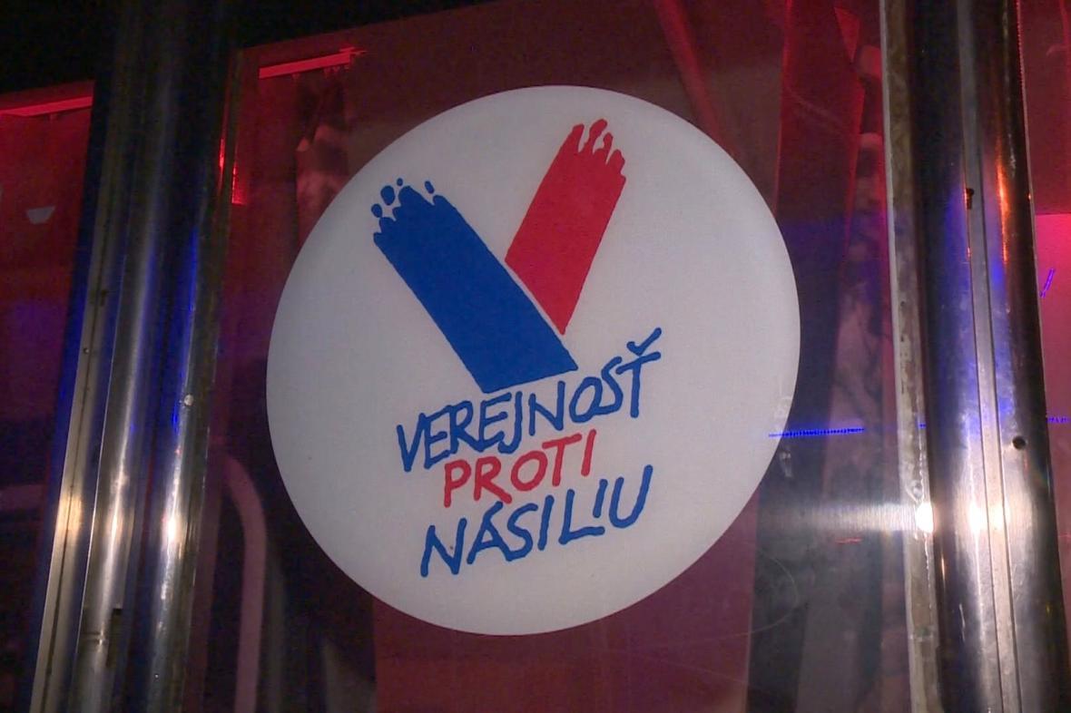 Logo hnutí Veřejnost proti násilí