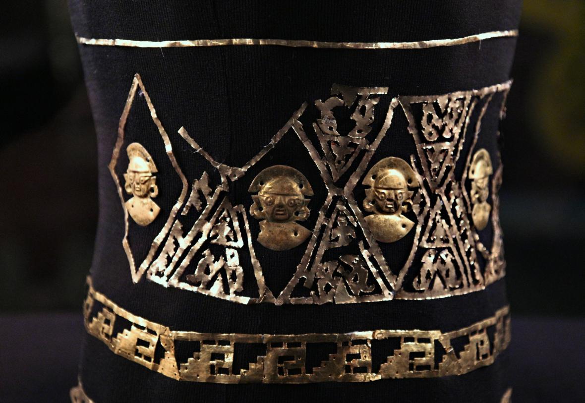 Poklad Inků – rituální artefakty z Peru