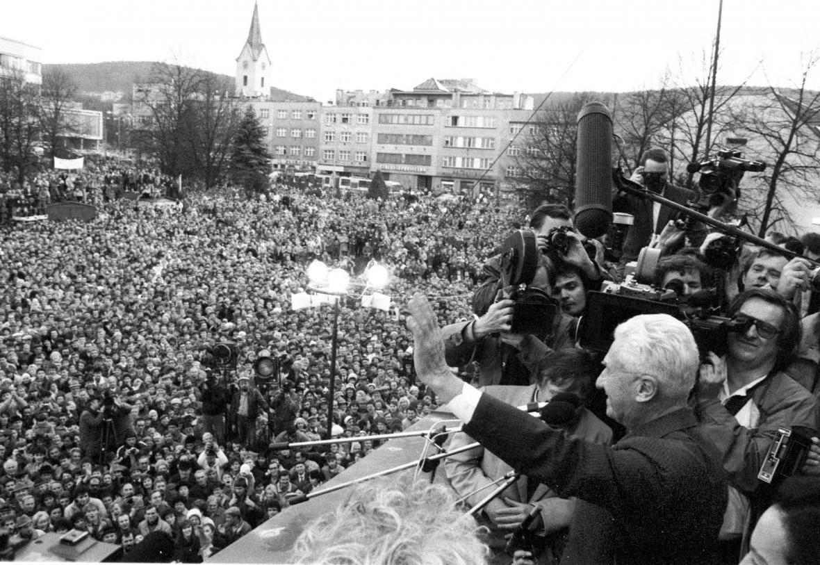 Tomáš Baťa zdraví obyvatele svého rodného Zlína