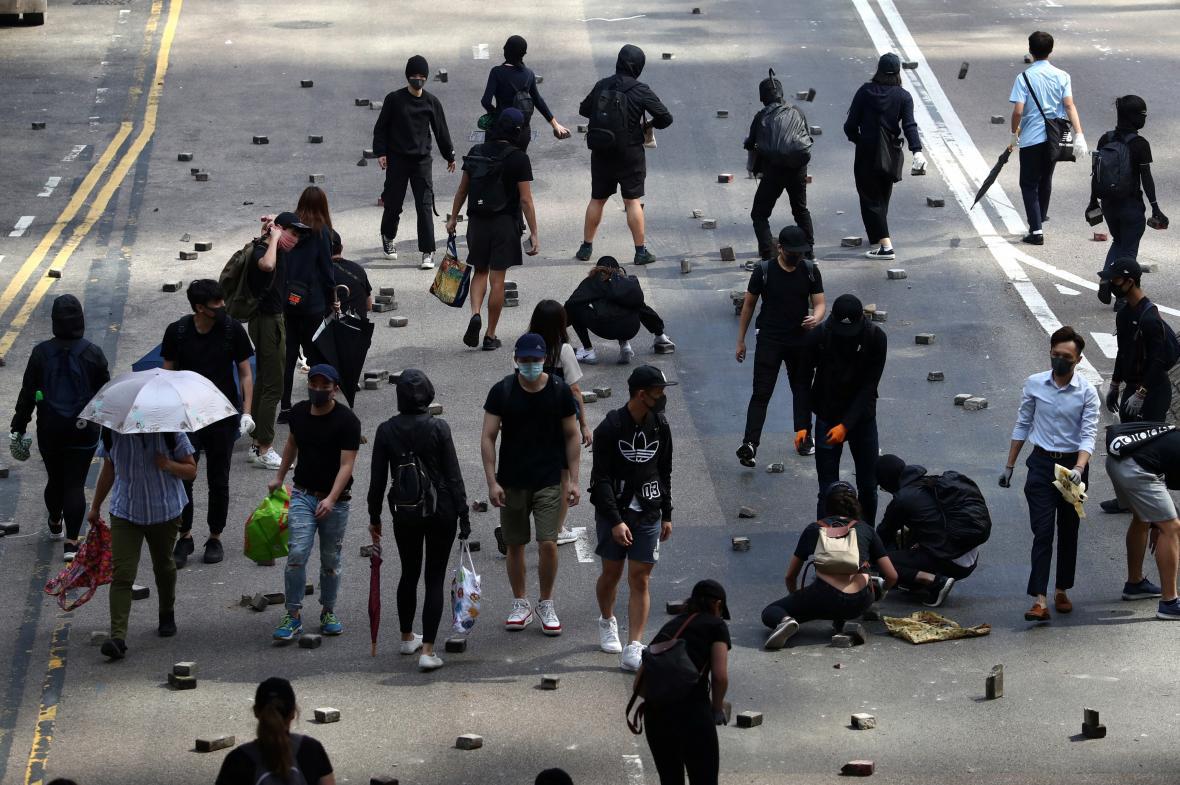 Situace v Hongkongu je už měsíce napjatá