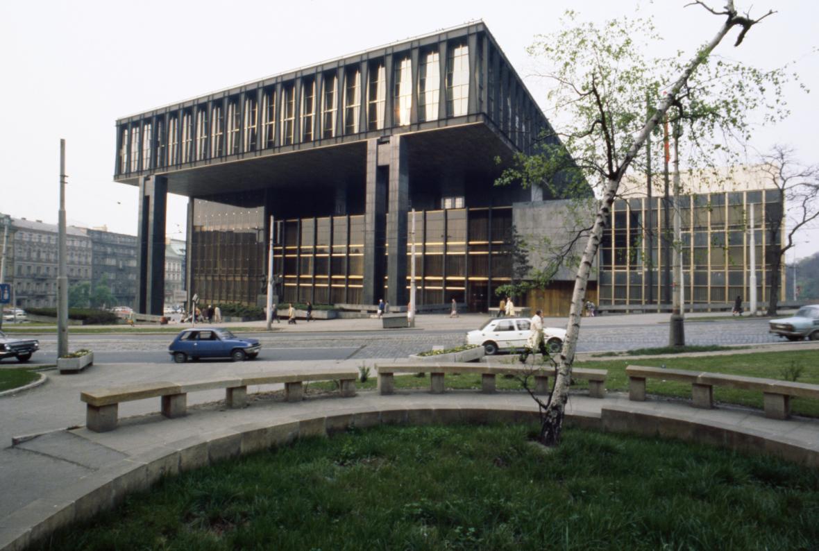 Budova Federálního shromáždění ČSSR, 1981