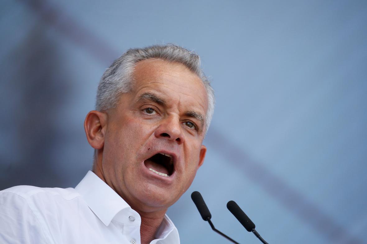 Oligarcha a šéf Demokratické strany Vlad Plahotniuc