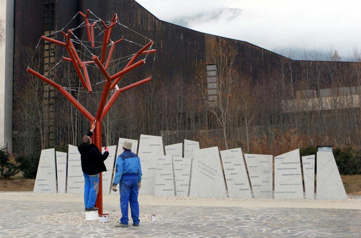 Památník tatranské vichřice v roce 2004
