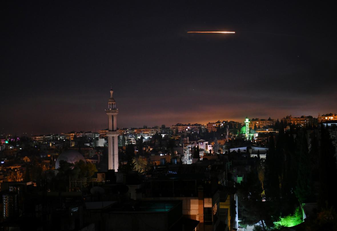 Aktivovaný syrský protiraketový systém