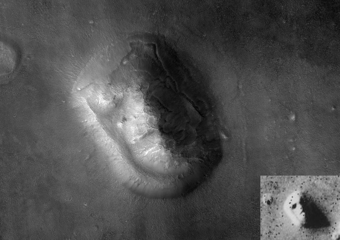 Sfinga na Marsu