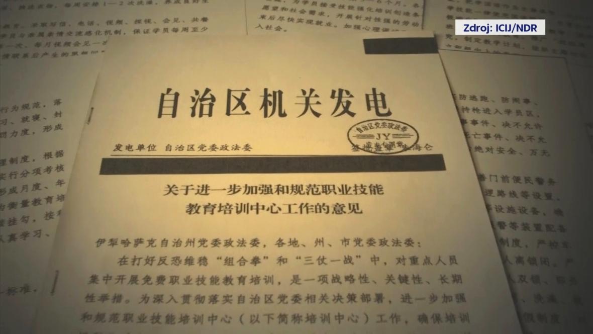 Uniklé dokumenty o převýchově Ujgurů jsou podle mezinárodního týmu novinářů pravé