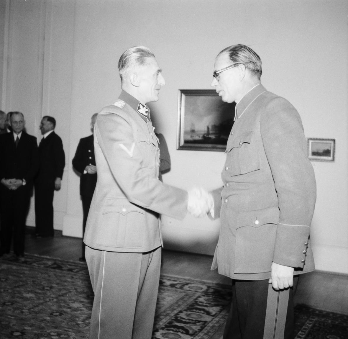 Karl Hermann Frank a Andrej Andrejevič Vlasov