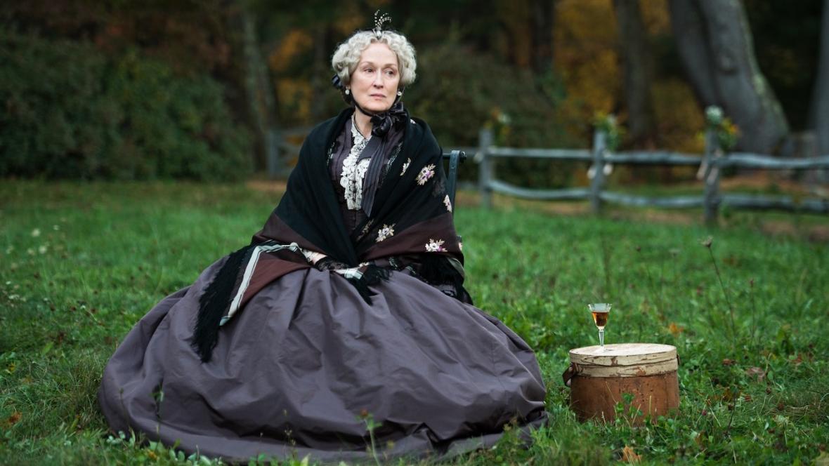 Meryl Streepová ve filmu Malé ženy
