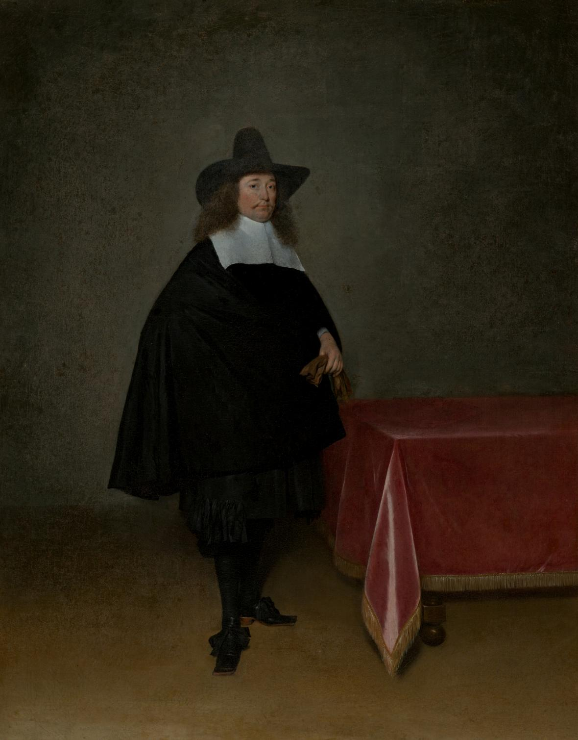 Gerard ter Borch / Podobizna Willema II, Marienburga, kolem 1661