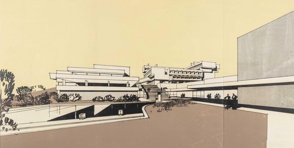 Hotel Strahov (architekt: Zdeněk Kuna, 1970)