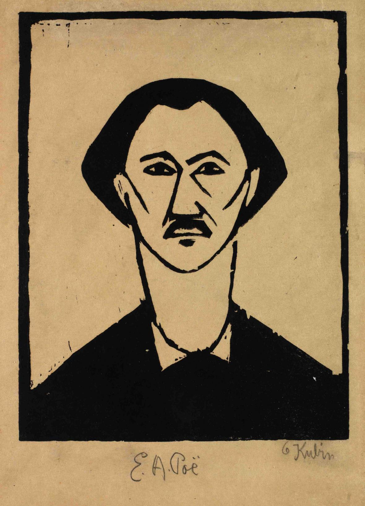 Otakar Kubín (Coubine) / E. A. Poe