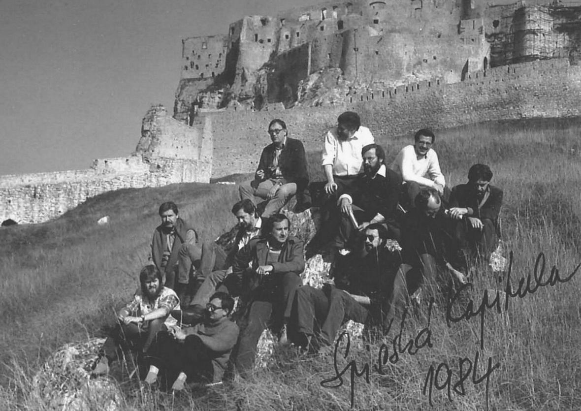 Setkání československých architektů ve Spišské Kapitule (1984)