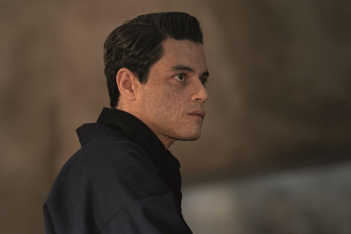 Rami Malek ve filmu není čas zemřít