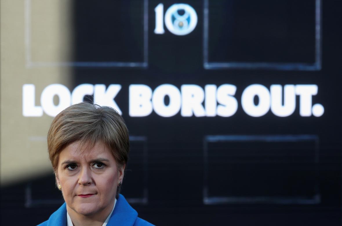 Nicola Sturgeonová chce co největší oslabení konzervativců