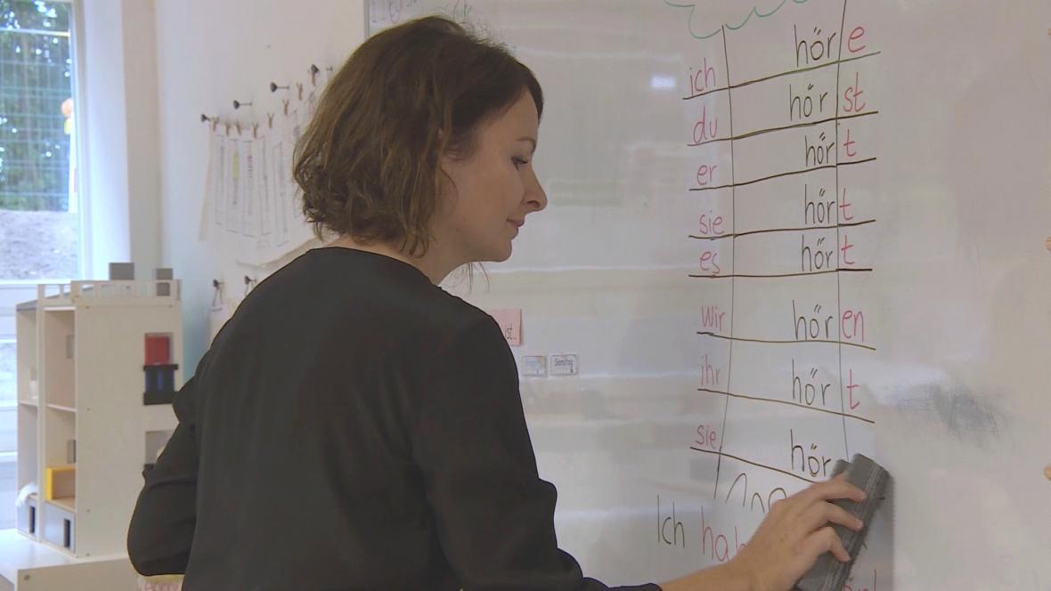 Klára Kunze učí v Německu děti migrantů