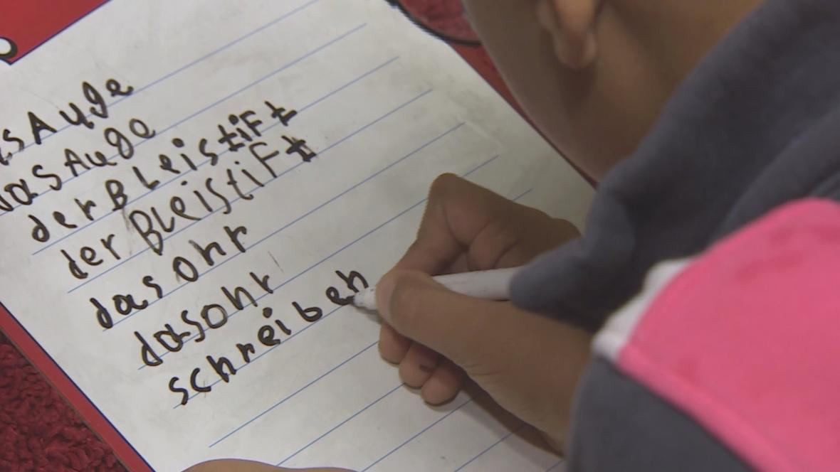 Řada německých školáků neumí řeč ani abecedu