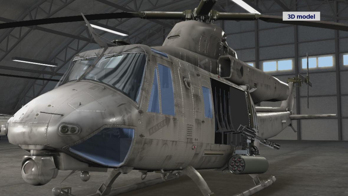 Víceúčelový vrtulník UH-1Y Venom