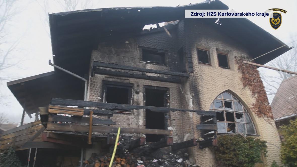 Požár na Chebsku