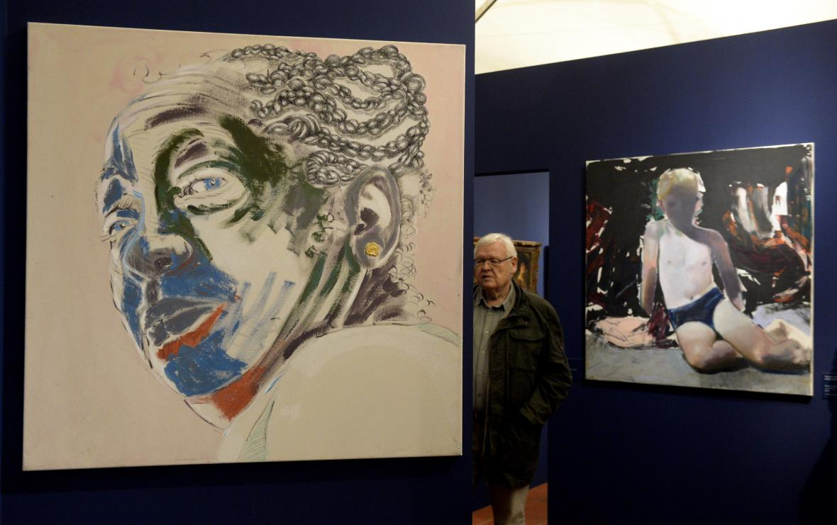 Z výstavy Portrét v Čechách pohledem dvou staletí