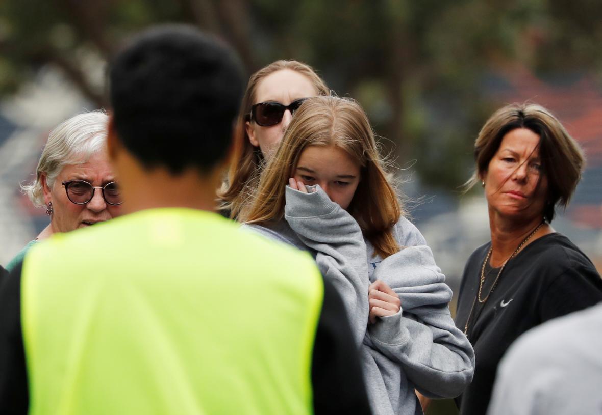 Pietní akce za oběti na Novém Zélandu