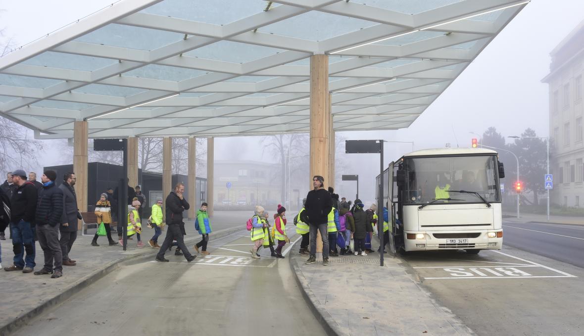 Nový dopravní terminál v Prostějově