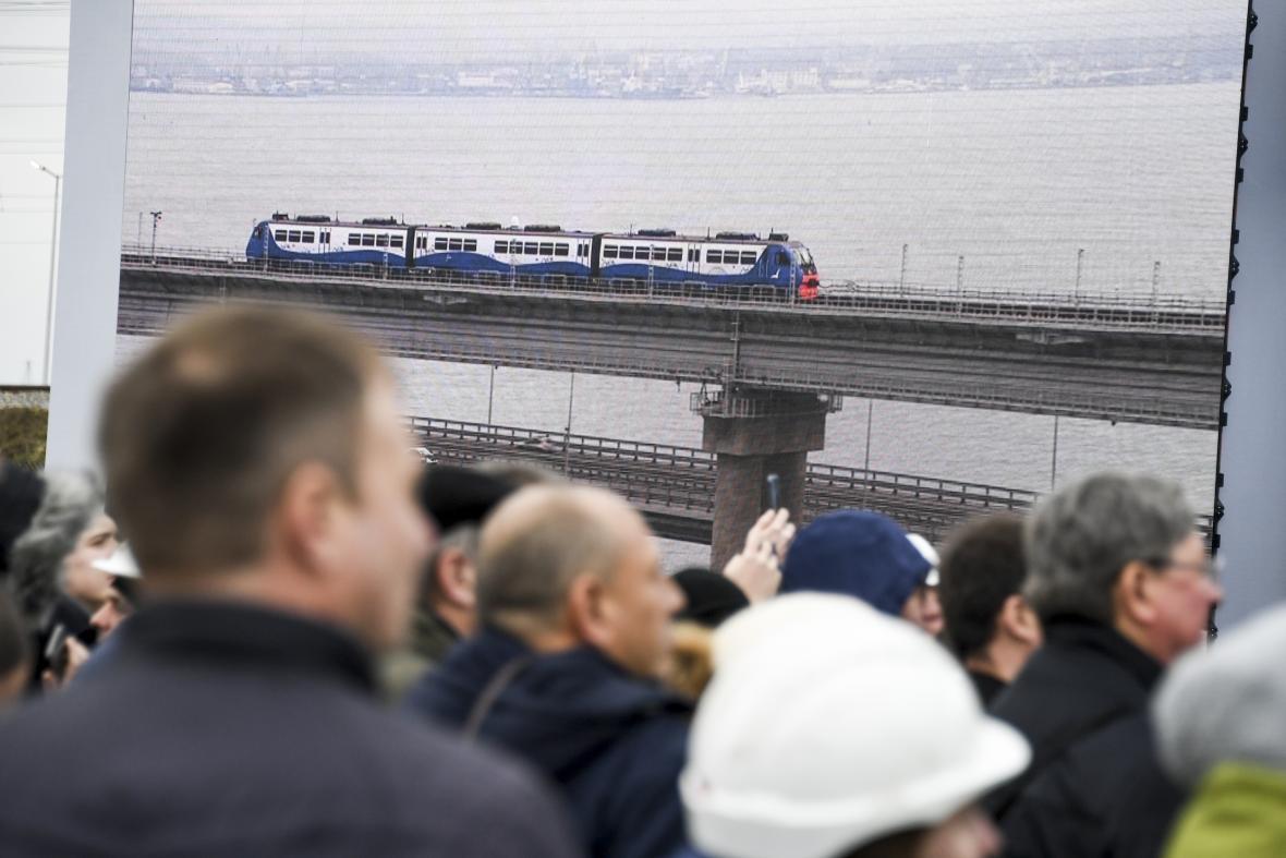 Most z Ruska na Krym