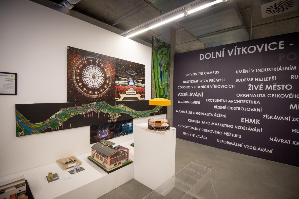 Výstava Dolní Vítkovice – vzpomínka na současnost