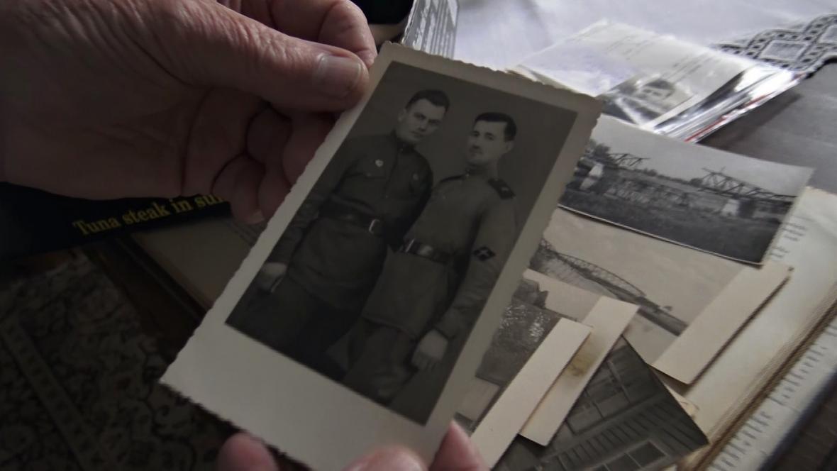 Fotografie ruských vojáků