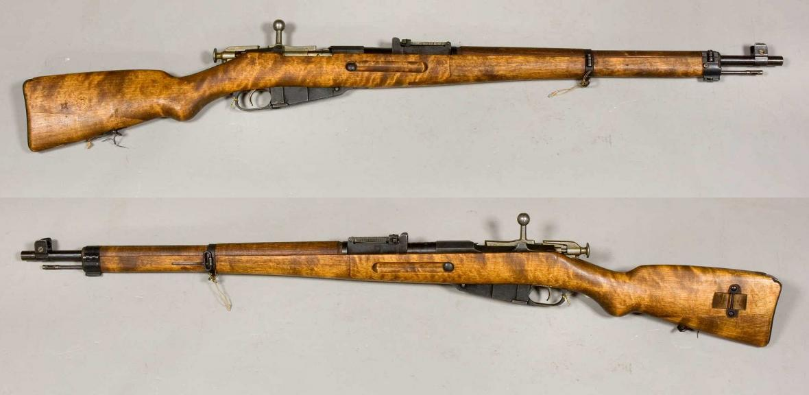 Puška Mosin-Nagant, jakou používal Häyhä