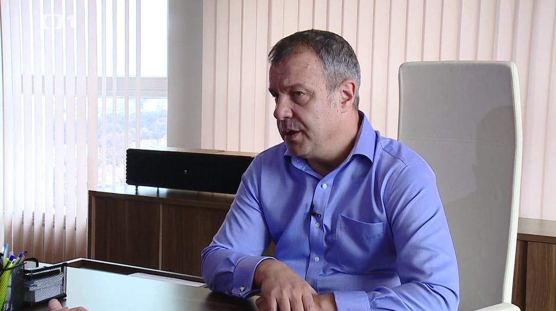 Ředitel Bulharské národní televize Emil Košlukov