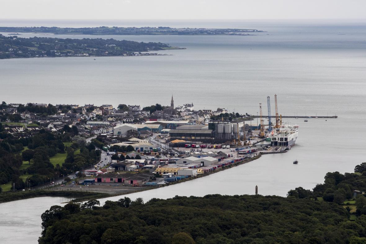 Severoirský přístav Warrenpoint