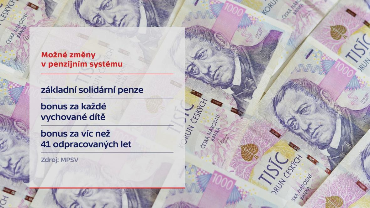 Možné změny v penzijním systému