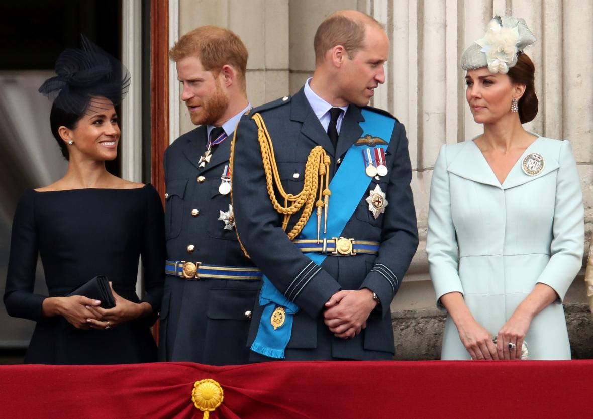 O chladných vztazích mezi princi a jejich manželkami informovala britská média několik měsíců