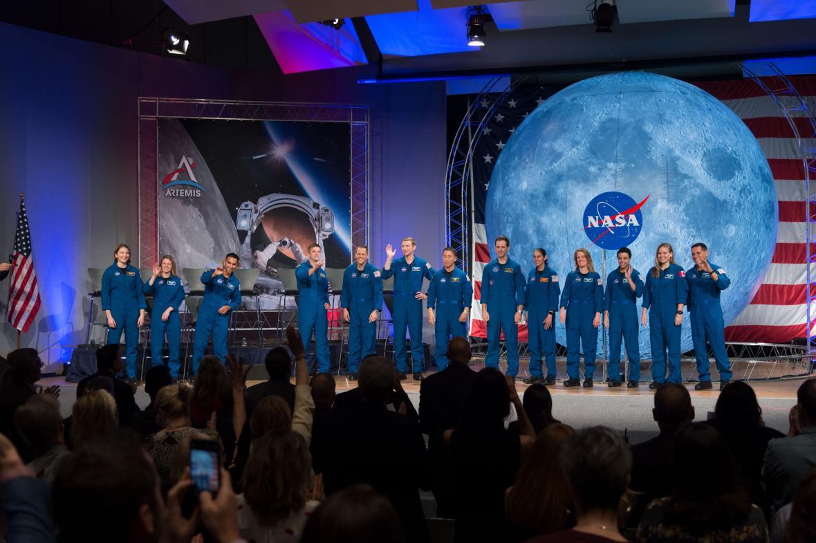 Noví astronauti NASA