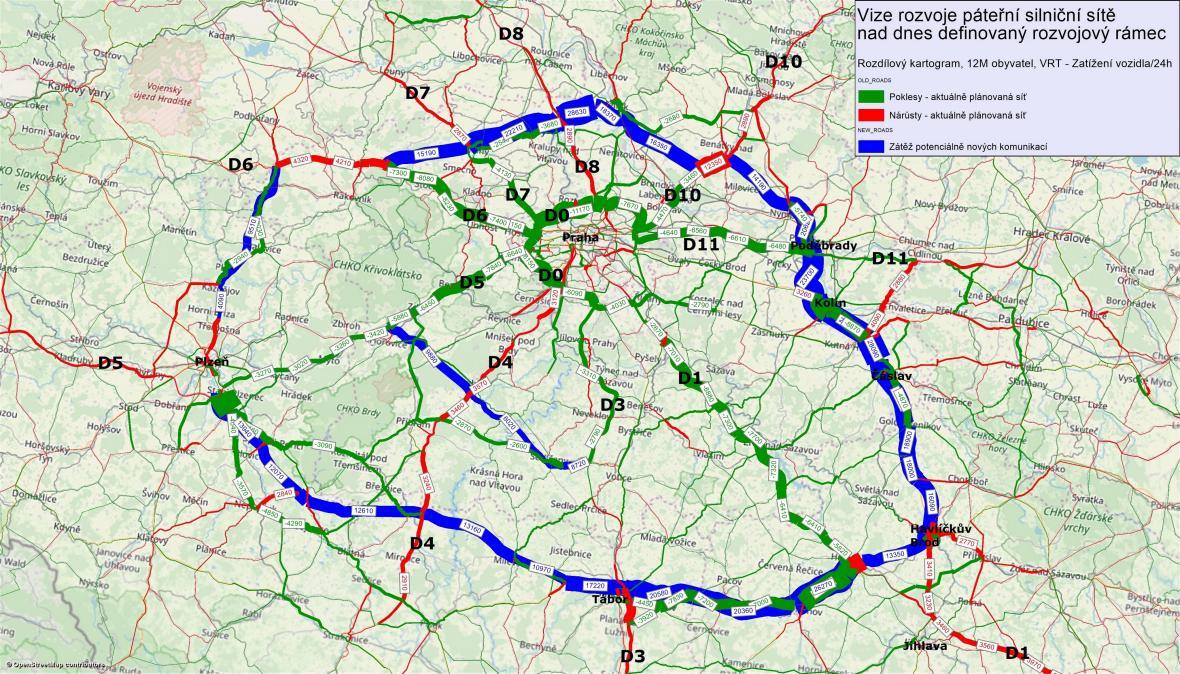Vize rozvoje dálnic