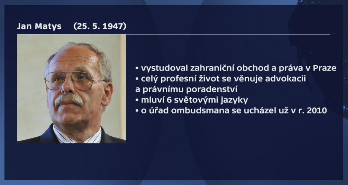 Medailonek Jana Matyse