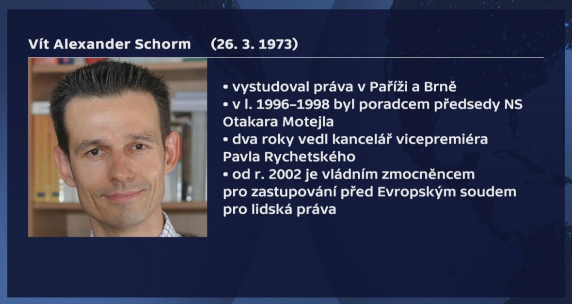 Medailonek Víta Alexandra Schorma